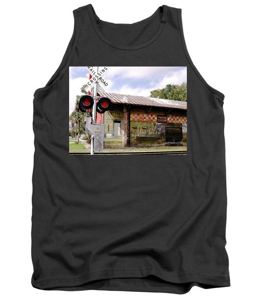 Old Freight Depot Perry Fl. Built In 1910 Tank Top