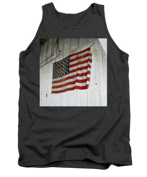 Old Glory Tank Top by Laurel Powell