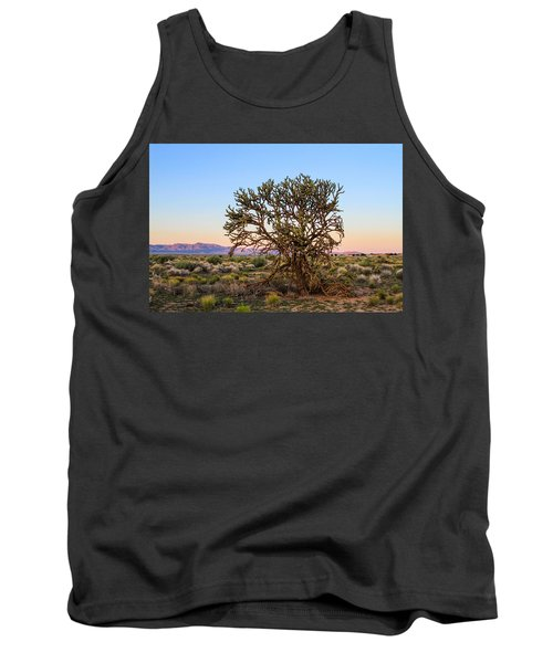 Old Growth Cholla Cactus View 2 Tank Top