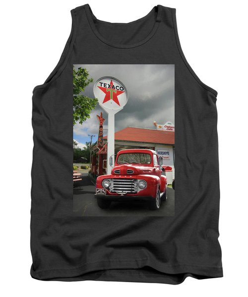 Tank Top featuring the photograph Old Guys Rule by Lori Deiter