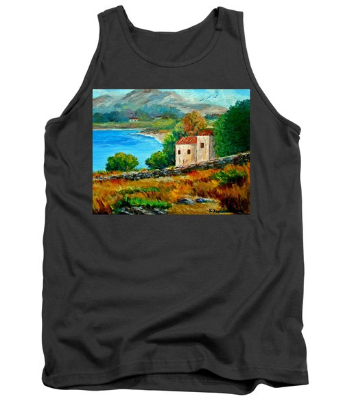 Old House In Mani Tank Top