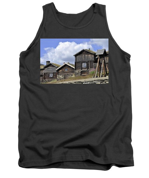 Old Houses In Roeros Tank Top by Thomas M Pikolin