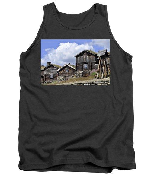 Old Houses In Roeros Tank Top