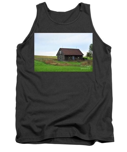 Old Log Cabin Tank Top