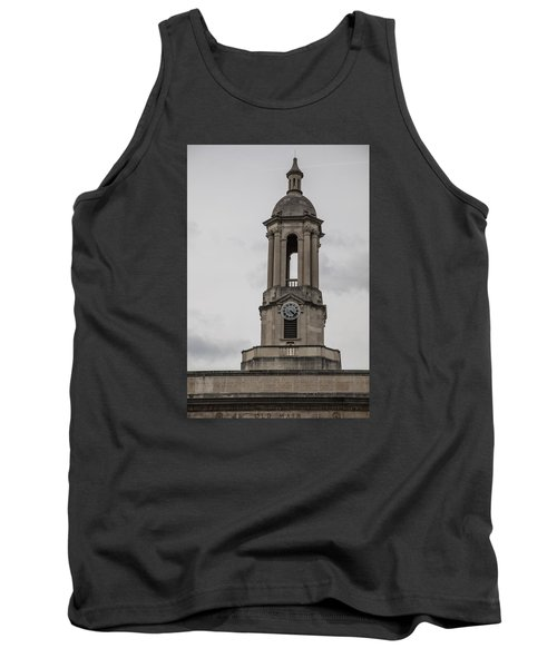 Old Main From Front Clock Tank Top by John McGraw