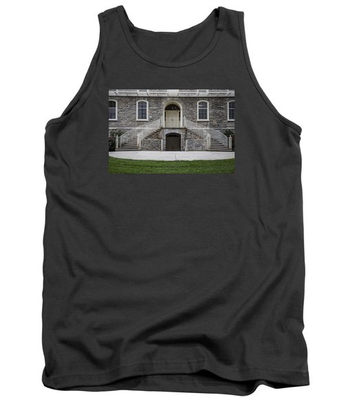 Old Main Penn State Stairs  Tank Top by John McGraw