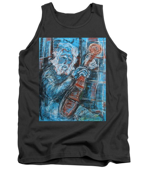 Old Man's Violin Tank Top