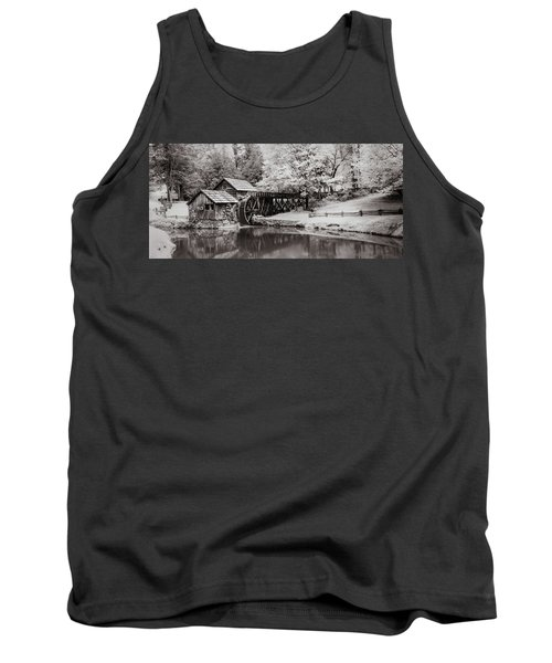 Old Mill On The Mountain Tank Top
