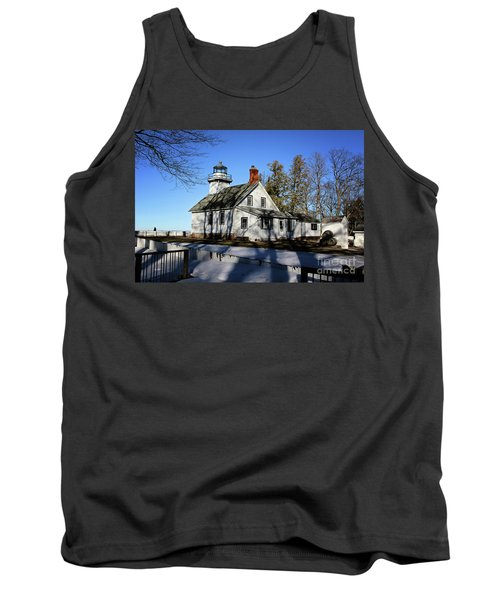 Old Mission Lighthouse Tank Top