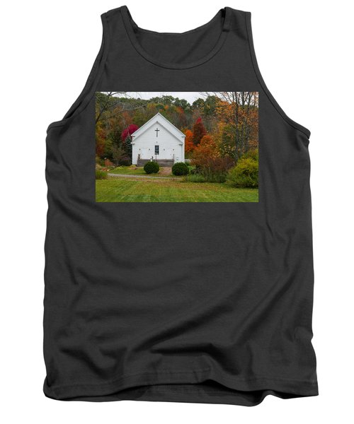 Old New England Church Tank Top
