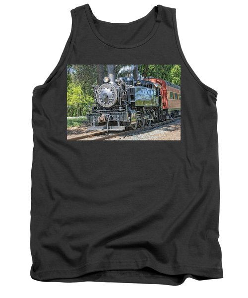 Old Number 10 Tank Top by Jim Thompson