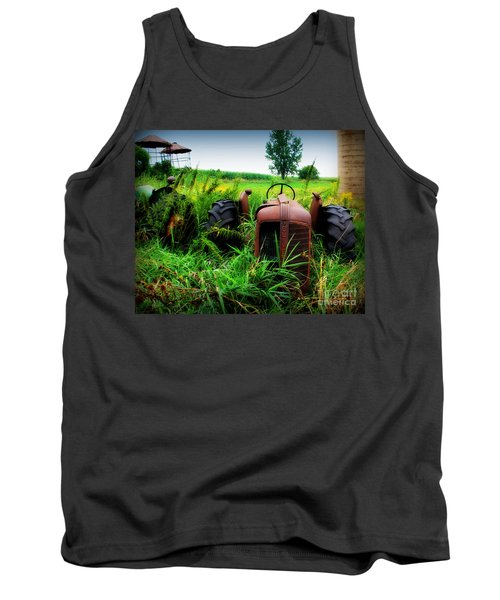 Old Oliver Tank Top by Perry Webster
