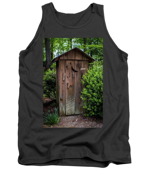 Old Outhouse Tank Top