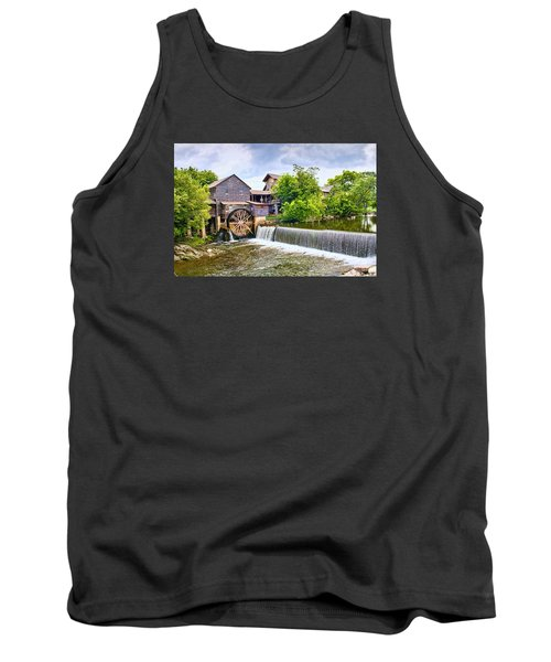 Old Pigeon Forge Mill Tank Top by Scott Hansen