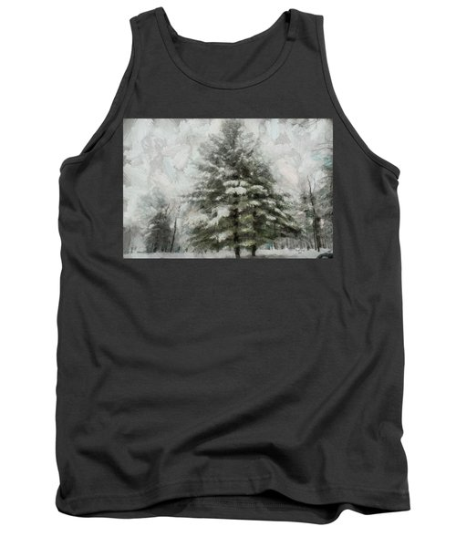 Old Piney Tank Top by Trish Tritz