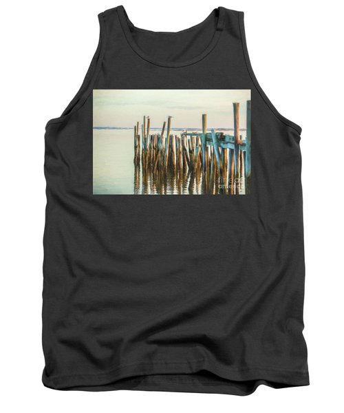 Old Provincetown Wharf Tank Top