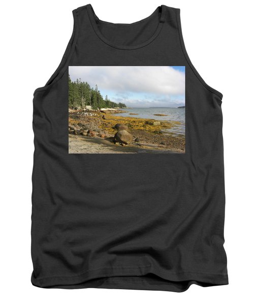 Old Quarry Beach, Stonington, Me Tank Top