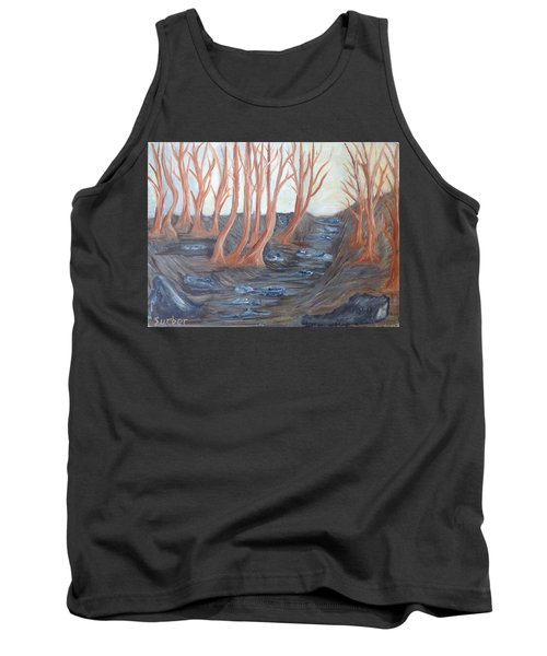 Old Road Through The Trees Tank Top