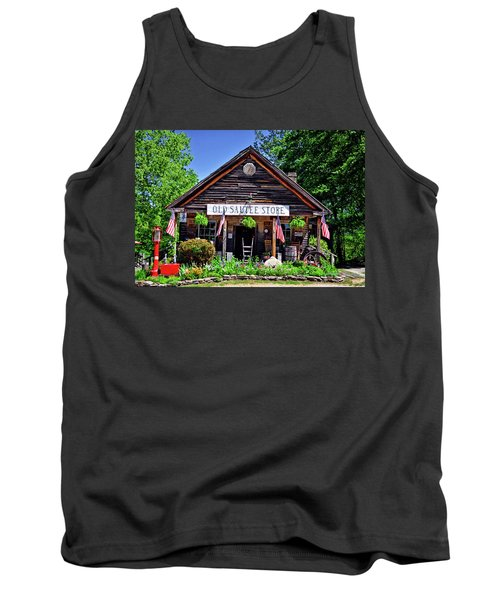 Old Sautee Store - Helen Ga 004 Tank Top by George Bostian