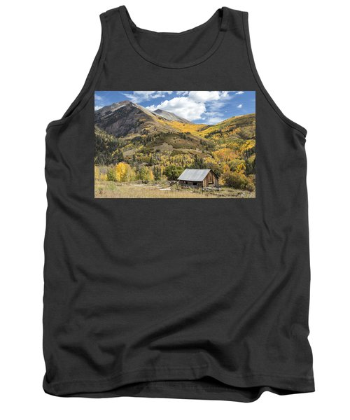 Old Shack And Equipment Tank Top