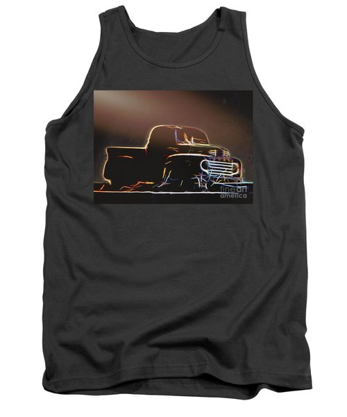 Old Sketched Pickup Tank Top