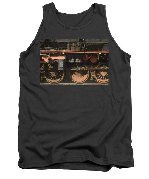 Old  Steam Train ...france Tank Top