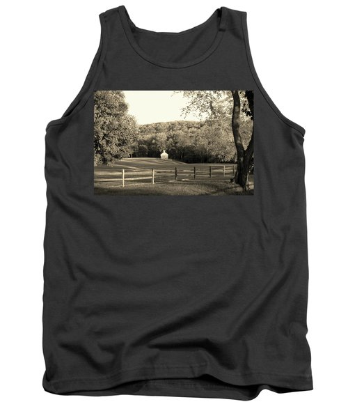Old Stone Cottage Tank Top