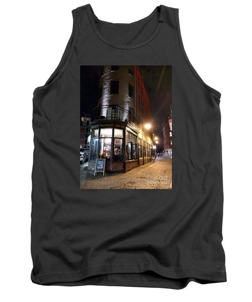 Tank Top featuring the photograph Old Tavern Boston by Haleh Mahbod