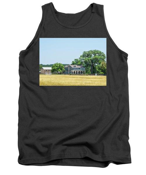 Old Texas Farm House Tank Top