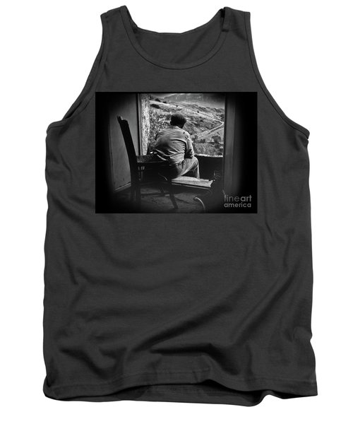 Tank Top featuring the photograph Old Thinking by Bruno Spagnolo