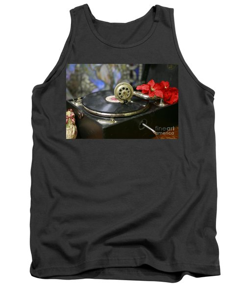 Tank Top featuring the photograph Old Time Photo by Lori Mellen-Pagliaro