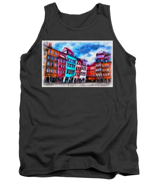 Old Town In Warsaw #11 Tank Top