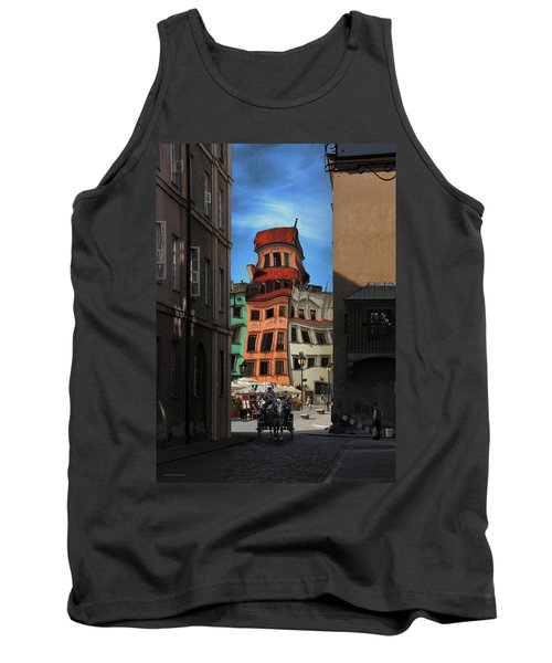 Old Town In Warsaw #14 Tank Top
