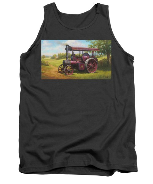 Old Traction Engine. Tank Top