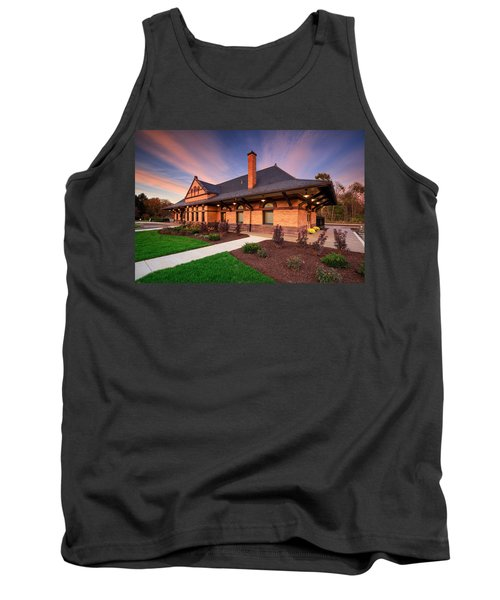 Old Train Station Tank Top