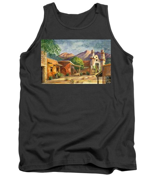 Old Tucson Tank Top by Marilyn Smith