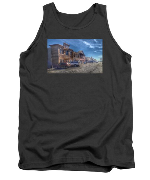 Tank Top featuring the photograph Old Western Town by Deborah Klubertanz