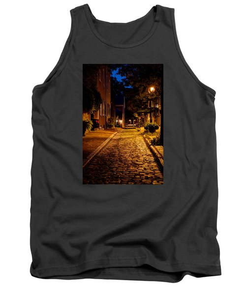 Tank Top featuring the photograph Olde Town Philly Alley by Mark Dodd