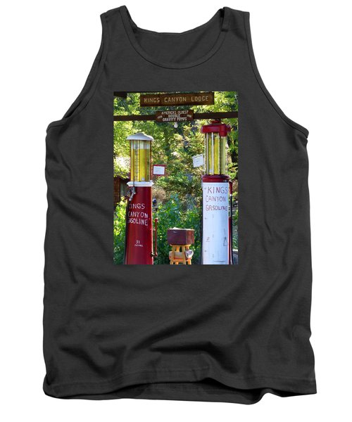 Oldest Dbl. Gravity Gas Pumps 1928 Tank Top