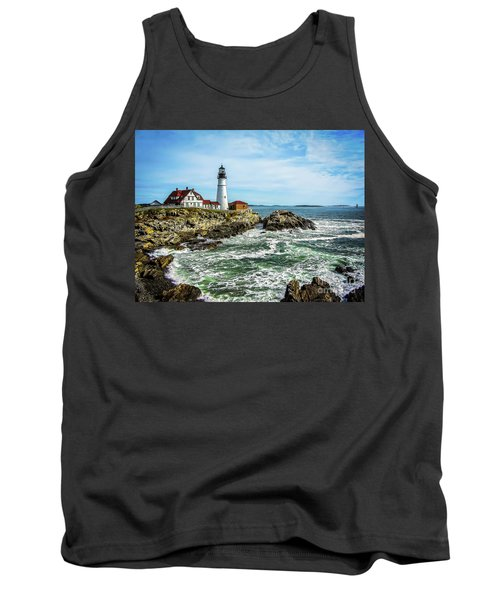 Oldest Lighthouse In Maine Tank Top