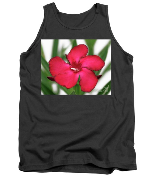 Oleander Blood-red Velvet 1 Tank Top
