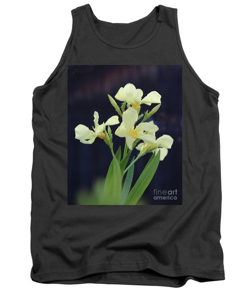Tank Top featuring the photograph Oleander Marie Gambetta 2 by Wilhelm Hufnagl