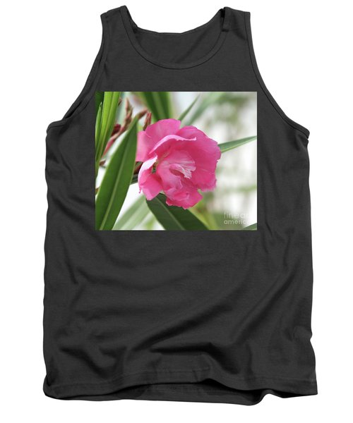 Tank Top featuring the photograph Oleander Splendens Giganteum 3 by Wilhelm Hufnagl