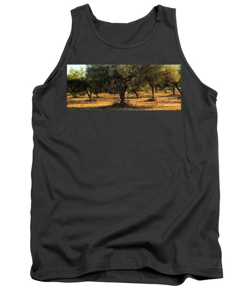 Olive Grove 3 Tank Top