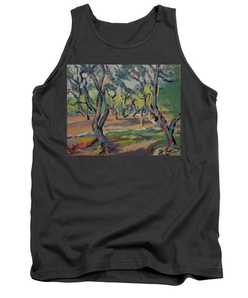Olive Yard Paxos Greece Tank Top