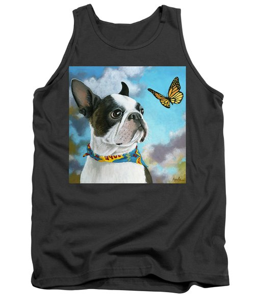 Oliver - Dog Pet Portrait Tank Top