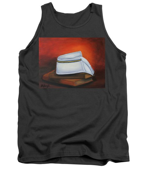Tank Top featuring the painting Olivet Nazerene University  by Marlyn Boyd
