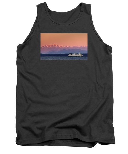 Tank Top featuring the photograph Olympic Journey by Dan Mihai