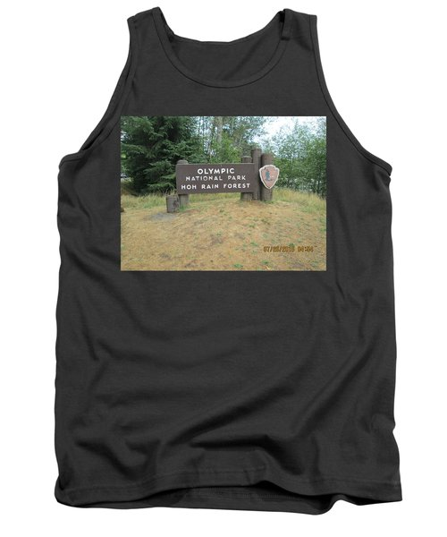 Olympic Park Sign Tank Top