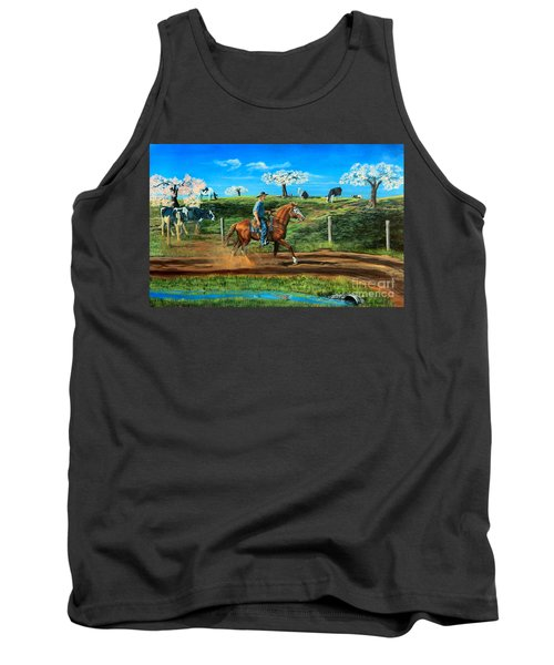 On A Spring Morning Tank Top by Ruanna Sion Shadd a'Dann'l Yoder